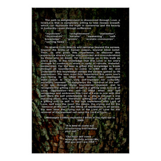 the path to enlightenment poster