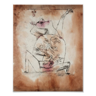 The Pathos of Fertility : Paul Klee 1921 Poster