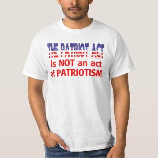 The Patriot Act Tee Shirt