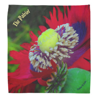 """The Patriot"" poppy kerchief"