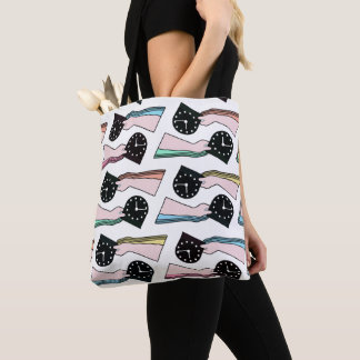 THE PATTERN - TIME TOTE BAG