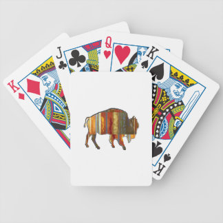 THE PATTERNS SHOWN BICYCLE PLAYING CARDS