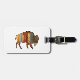 THE PATTERNS SHOWN LUGGAGE TAG