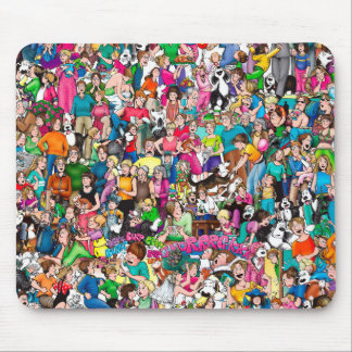 """The Pattersons"" Mouse Pad"