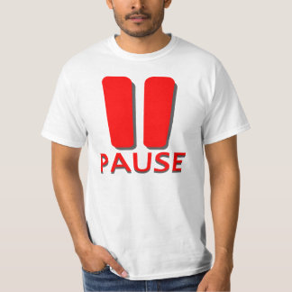 The Pause Button T-Shirt
