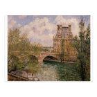The Pavillion de Flore and the Pont Royal Postcard