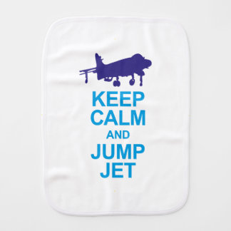 The pays to combat pilots burp cloth