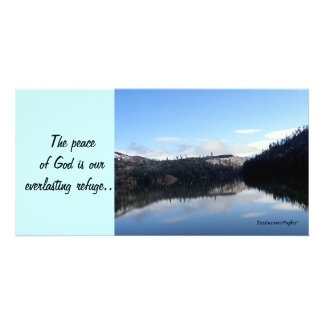 The Peace of God Photo Card Template