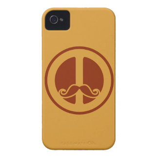The Peace Stache custom Blackberry case