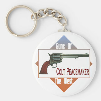 The Peacemaker Basic Round Button Key Ring