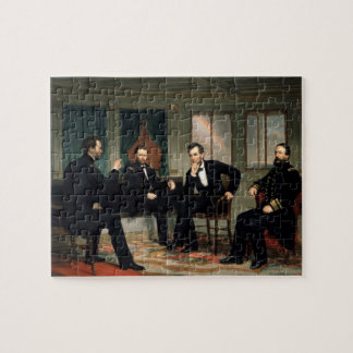"""The Peacemakers"" - Abe Lincoln Puzzle"