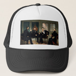 The Peacemakers with Abraham Lincoln Trucker Hat