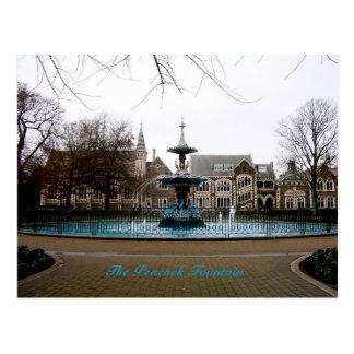 The Peacock Fountain Postcard