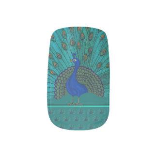 The Peacock Minx Nail Art