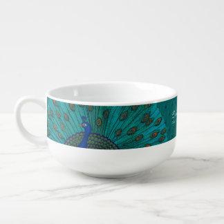 The Peacock Soup Mug