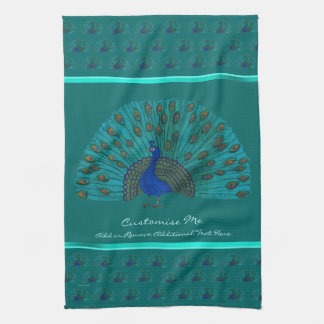 The Peacock Tea Towel