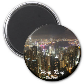 The Peak, Hong Kong Night Scenery Magnet