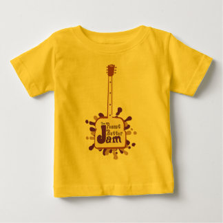 The_Peanut_Butter_Jam_Logo_1_Brown_and_Purple[1] Baby T-Shirt