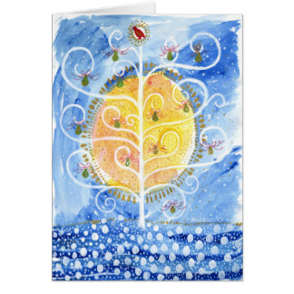 The Pear Tree & The Partridge Card
