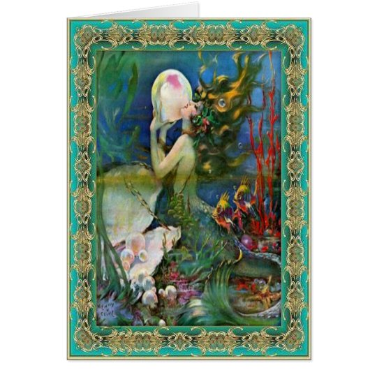 The Pearl Mermaid Card