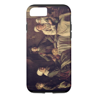 The Peasant Family, 1642 (oil on canvas) iPhone 7 Case