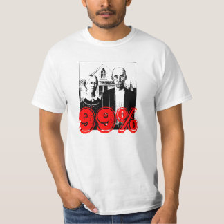 The Peasants Are Revolting 99% T Shirt