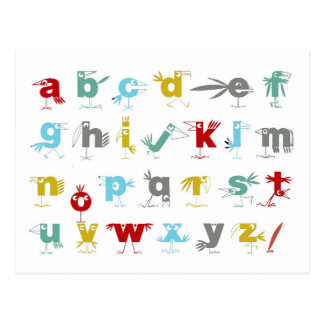The Pelican Alphabet Postcard