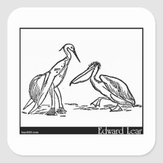 The Pelican Chorus Square Sticker