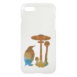 The Penguin And The Mushroom iPhone 8/7 Case