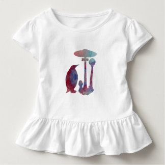 The Penguin And The Mushroom Toddler T-Shirt