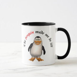The penguin made me do it! Mug