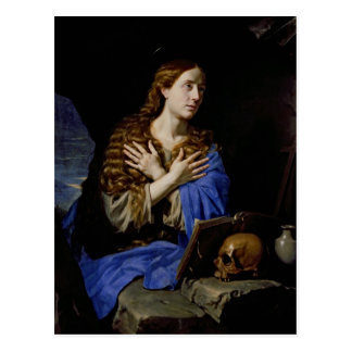 The Penitent Magdalene, 1657 Postcard