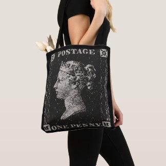 The Penny Black Postage Stamp Tote Bag