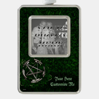 The Pentacle & The Ivy Silver Plated Framed Ornament