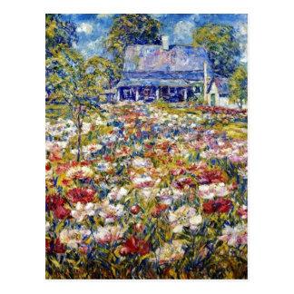 """The Peony Garden"" Postcard"
