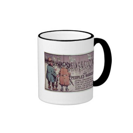 The People's Budget', 1909 Coffee Mug