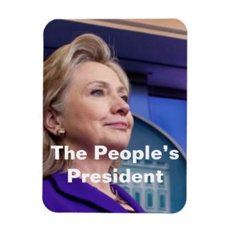 The People's President: Hillary 2016 Magnet