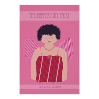 The Peppermint Fairy Poster