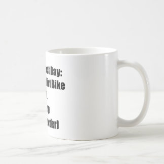 The Perfect Day Ride The Dirt Bike Eat Sleep In Coffee Mug