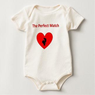The perfect match organic bodysuit