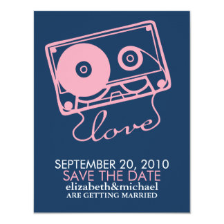 The Perfect Mix Wedding Save the Date 11 Cm X 14 Cm Invitation Card