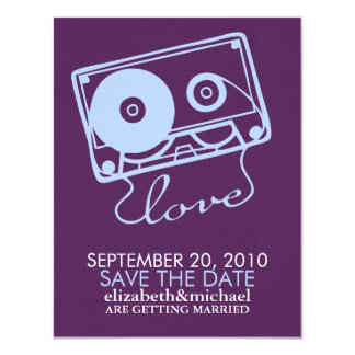 The Perfect Mix - Wedding Save the Date Card