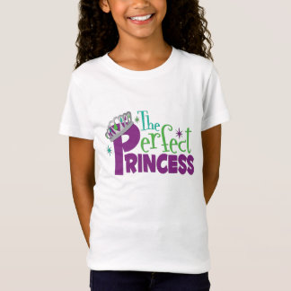 the Perfect Princess Girl's Fitted Shirt