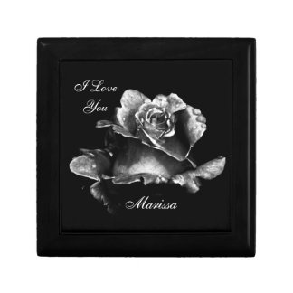 The Perfect Rose- I Love You Small Square Gift Box