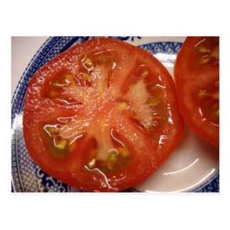 The Perfect Slice Tomato Postcard
