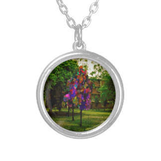 The Perfect Tree Round Pendant Necklace