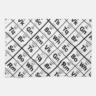 The Periodic Bar Tea Towel