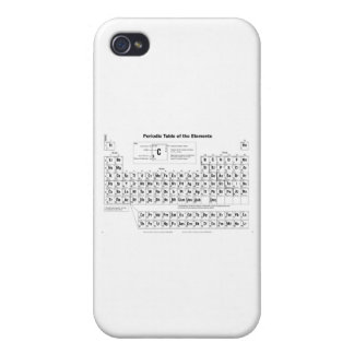 The Periodic Table iPhone 4 Cover