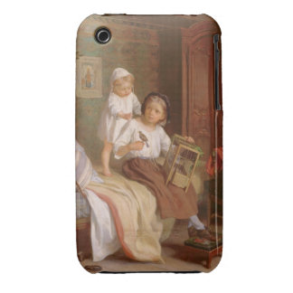 The Pet Bird (oil on canvas) Case-Mate iPhone 3 Cases
