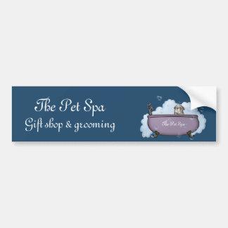 The Pet Spa Bumper Sticker